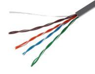 Коммуникационный кабель в разрезе